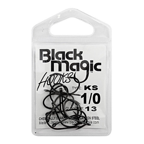 Black Magic KS Series Fishing Hook Pack 1/0