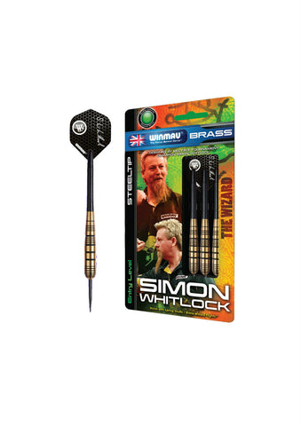 Winmau Simon Whitlock Brass Steel Tip Darts