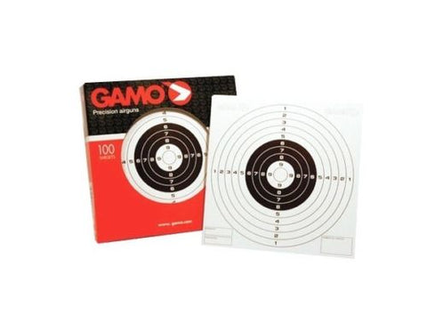 Gamo Single Air Rifle Targets (100Pack)