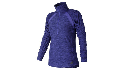 New Balance Womens Anticipate 1/2 Zip Top
