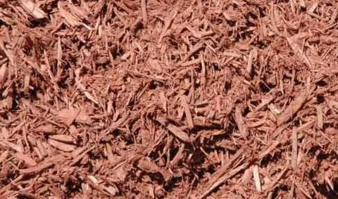 Mulch Service: Red Mulch