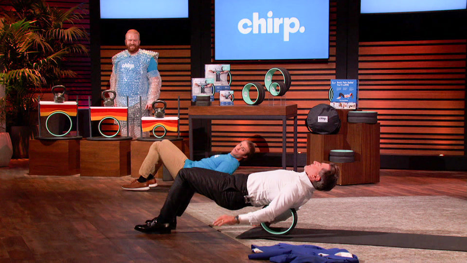 Firsthand Shark Tank Interview with Chirp CEO, Tate Stock