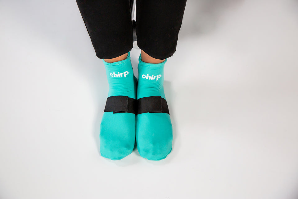 How to Use the Cold Therapy Socks
