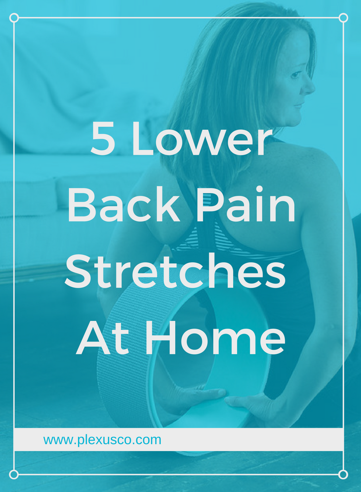 how to stop lower back pain at home