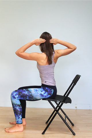 relieve your upper back pain and stretch with a plexus wheel