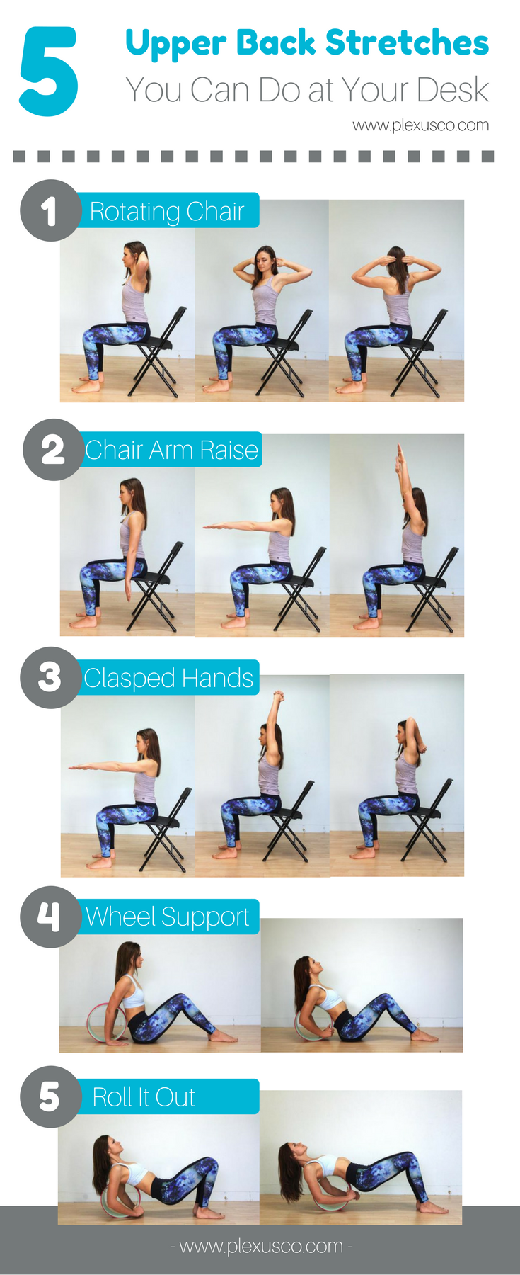 5 stretches to help upper back pain at home � chirp