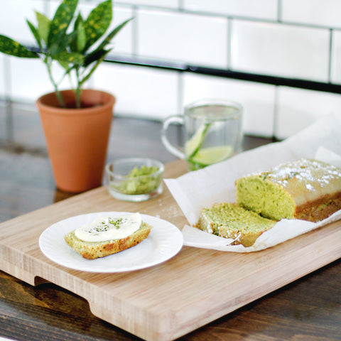 Matcha Sweet Loaf Recipe | Plexus Yoga Wheel | Plexus Co.