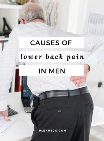 causes of lower back pain in men