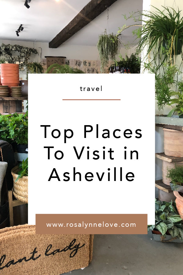 ASHEVILLE | Top Recommendations