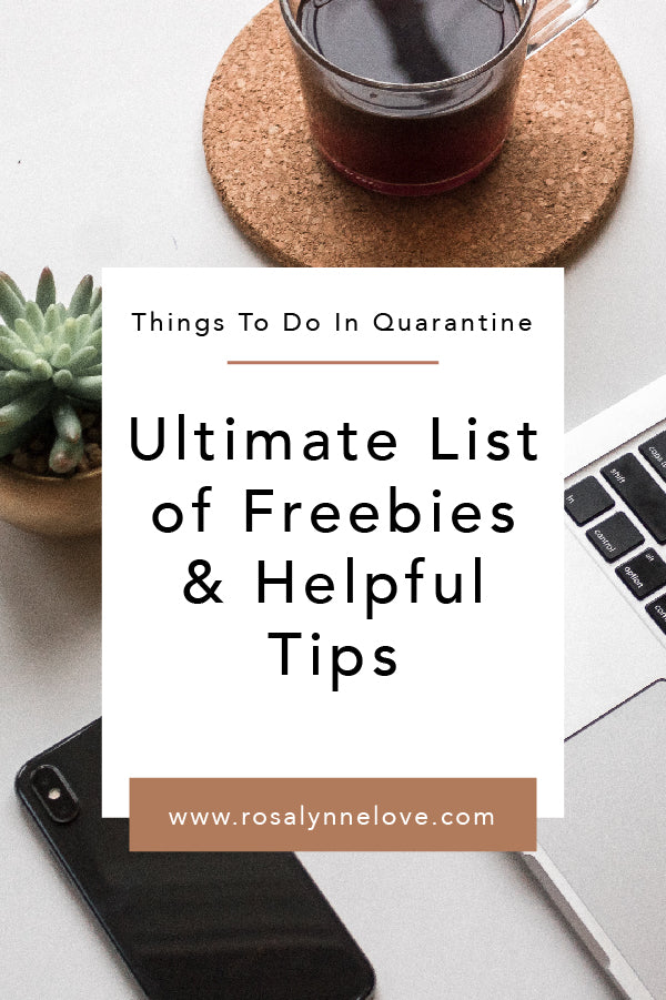 Ultimate Freebies & Helpful Tips