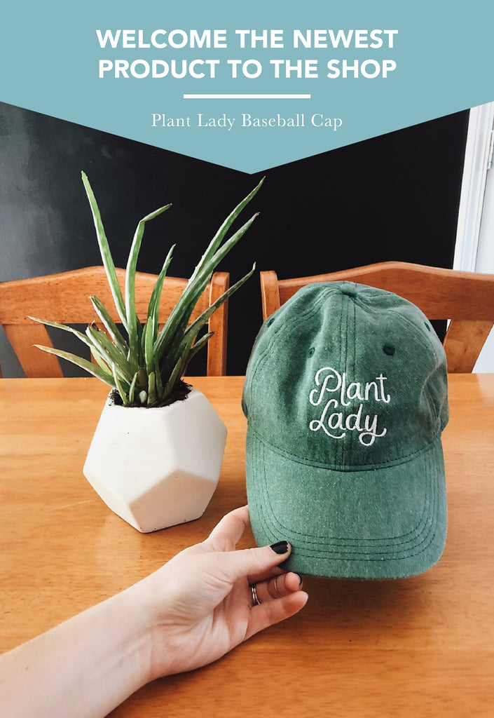 *New* Plant Lady Hat