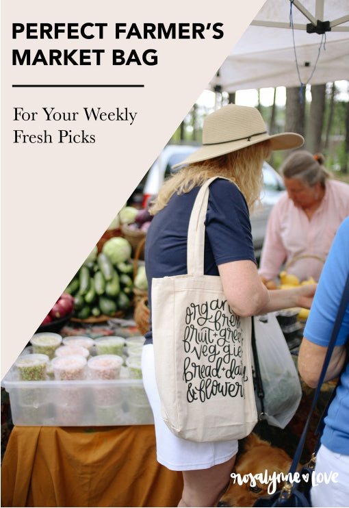 The Perfect Farmer's Market Tote Bag