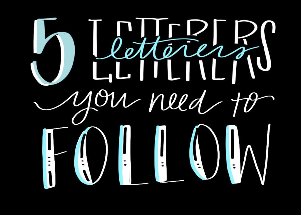 Follow Friday: 5 Letterers I Love