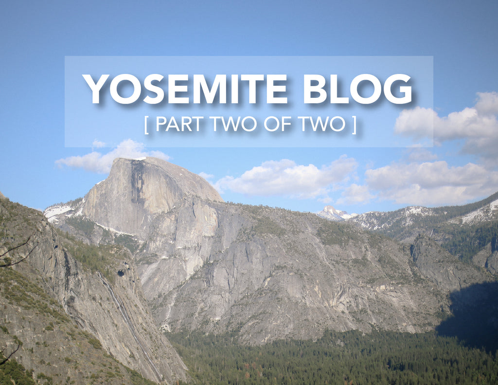 Yosemite: Babymoon Recap - Part Two