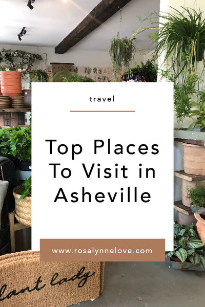 Top Places To Visit in Asheville