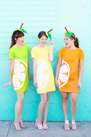 DIY Citrus Costume