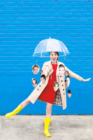 DIY It's Raining Men Costume