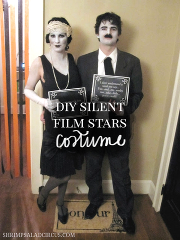 DIY Silent Film Costume