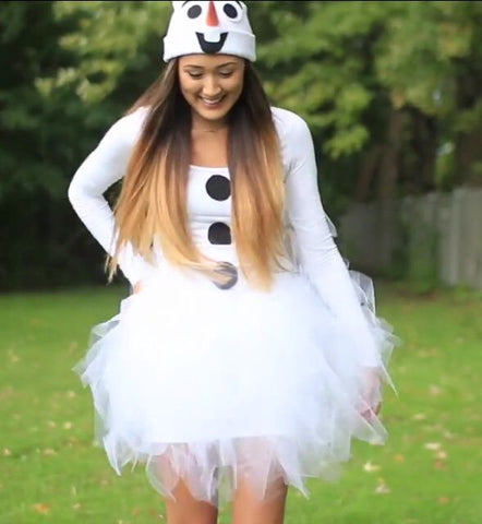 53 of the best diy halloween costumes ideas rosalynne love diy olaf costume solutioingenieria Image collections