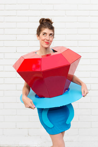 DIY Ring Pop Costume