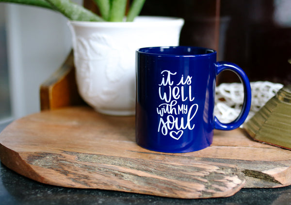 It Is Well With My Soul - Rosalynne Love - Coffee Mug