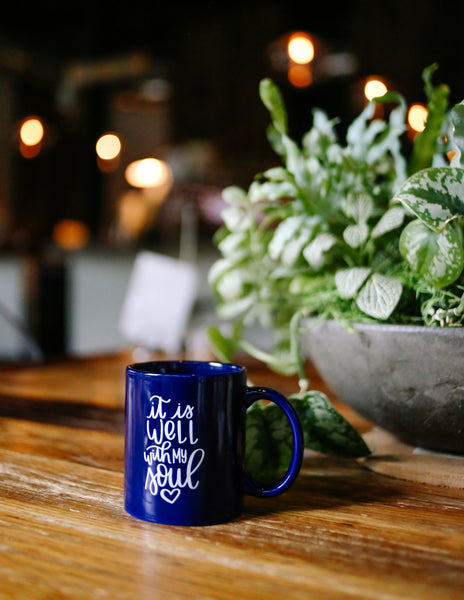Even So, It Is Well With My Soul | Even So Mug | It Is Well Mug | Hymn | Shop Small | Mothers Day Gift Ideas