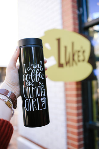 Luke's Diner Day - Gilmore Girls and Luke's Coffee Shop