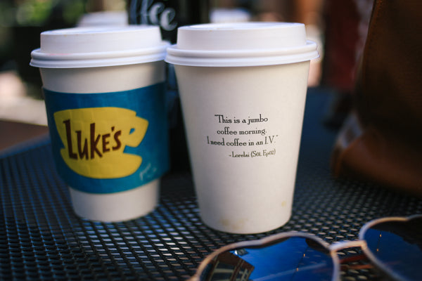 Gilmore Girl's and Luke's Diner - Coffee Day at Thousand Hills Coffee in Atlantic Station
