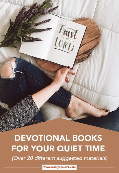 Devotion Books For Your Quiet Time