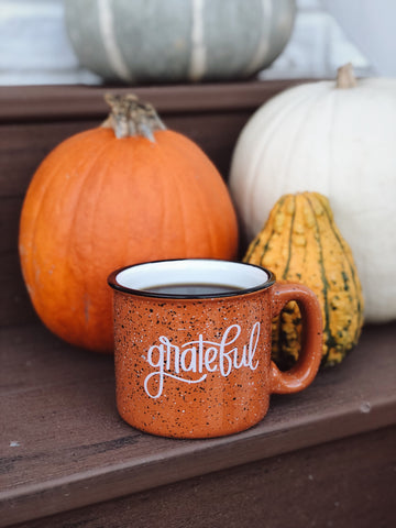 Grateful | Campfire Mug - Rosalynne Love