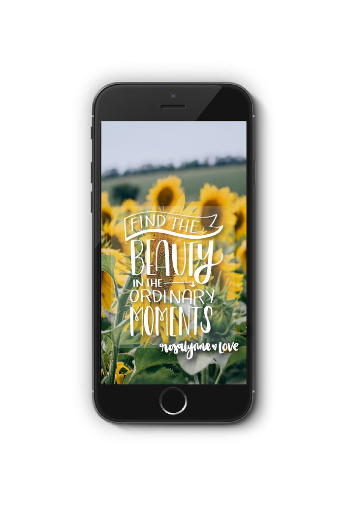 FREEBIE: August // Phone Quote