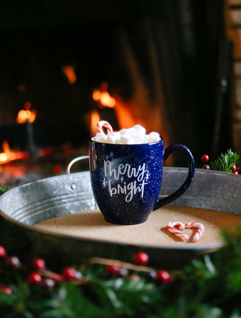 Merry & Bright | Latte Campfire Mug - Rosalynne Love