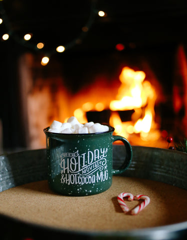 Holiday Movies & Hot Cocoa | Mug - Rosalynne Love