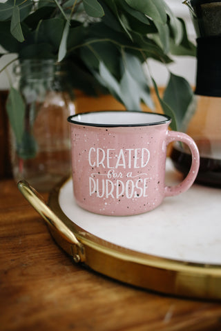 Created For A Purpose | Mug - Rosalynne Love