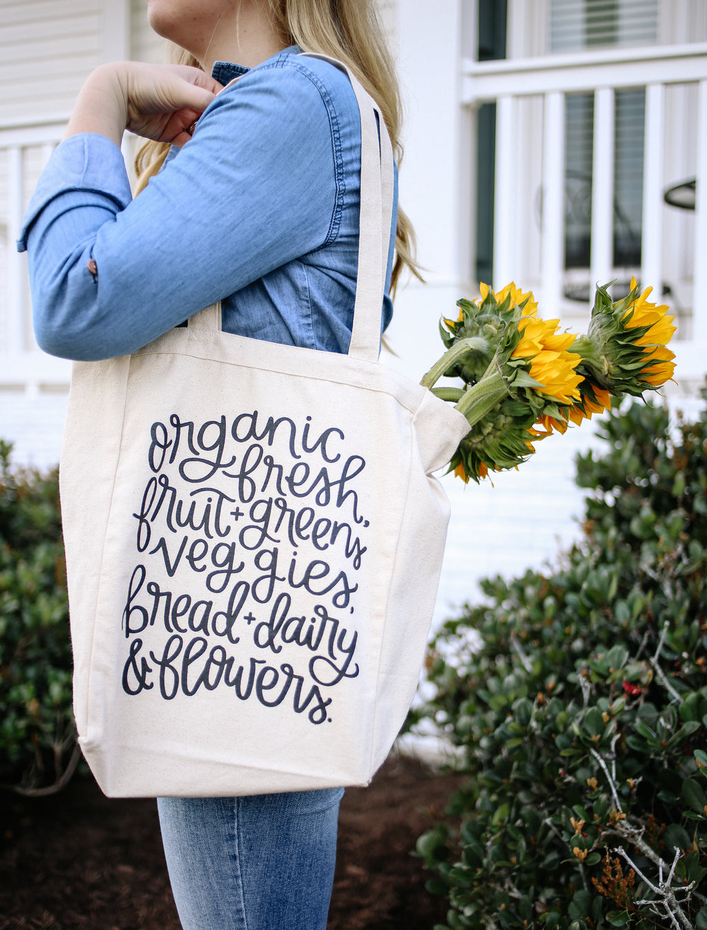 Spring Grocery List | Tote Bag