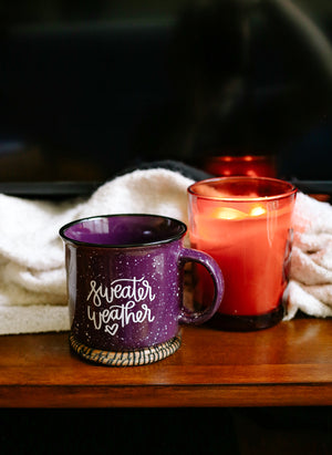 Sweater Weather | Mug - Rosalynne Love