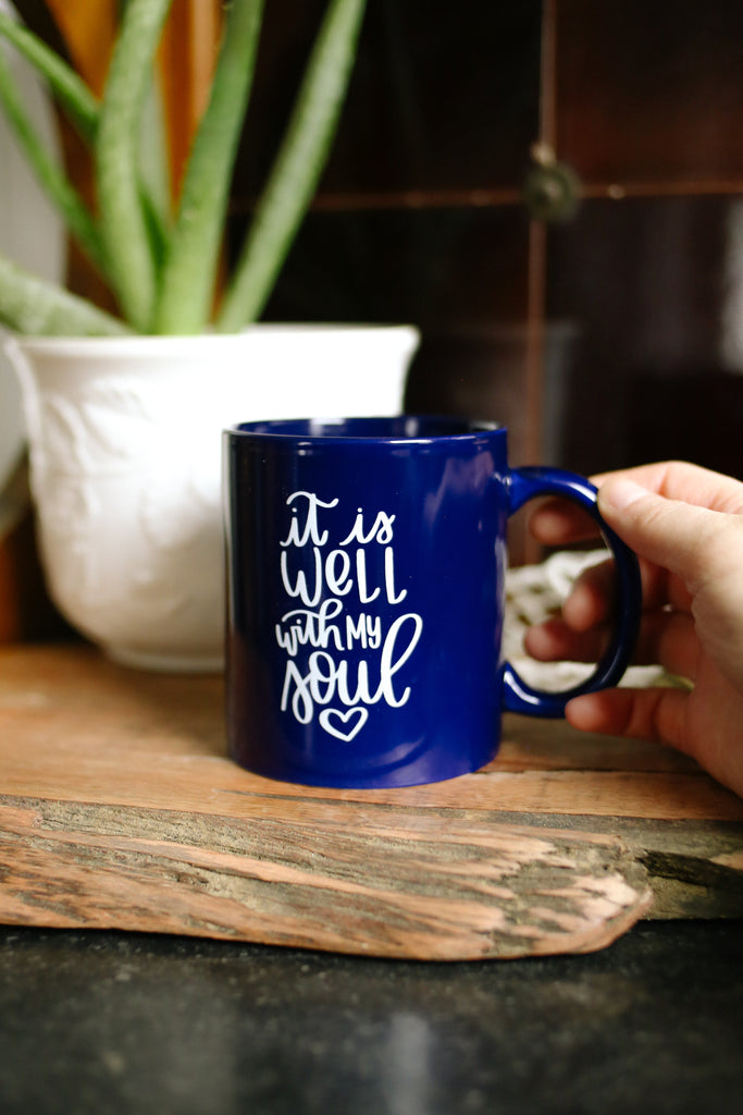 It Is Well With My Soul - Mug - Rosalynne Love