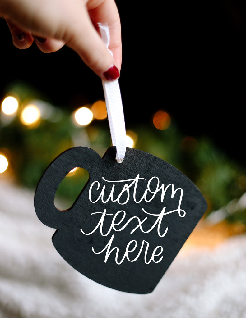 Custom Mug Ornament