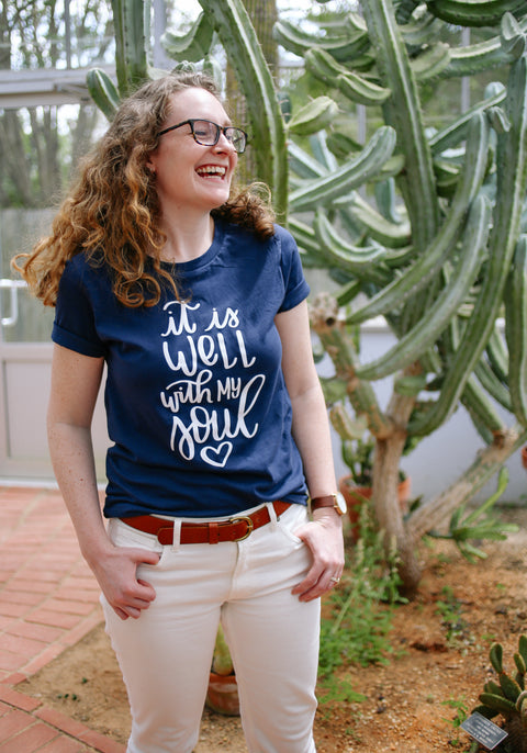 It Is Well With My Soul | Tee - Rosalynne Love