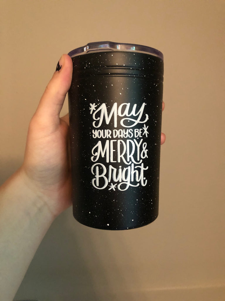 *IMPERFECT* Merry & Bright | Tumbler