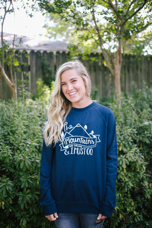 The Mountains Are Calling, and I Must Go | Long Sleeve - Rosalynne Love