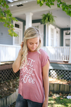 But First, Coffee | Women's Tank - Rosalynne Love