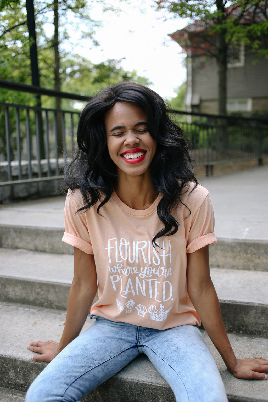 Flourish Where You're Planted | Tee - Rosalynne Love