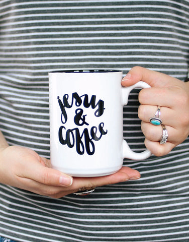 Jesus & Coffee | Mug - Rosalynne Love