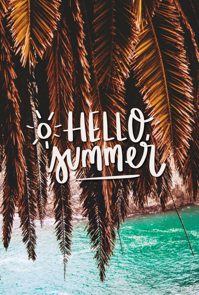"""Hello Summer."" // Phone Background - Rosalynne Love"