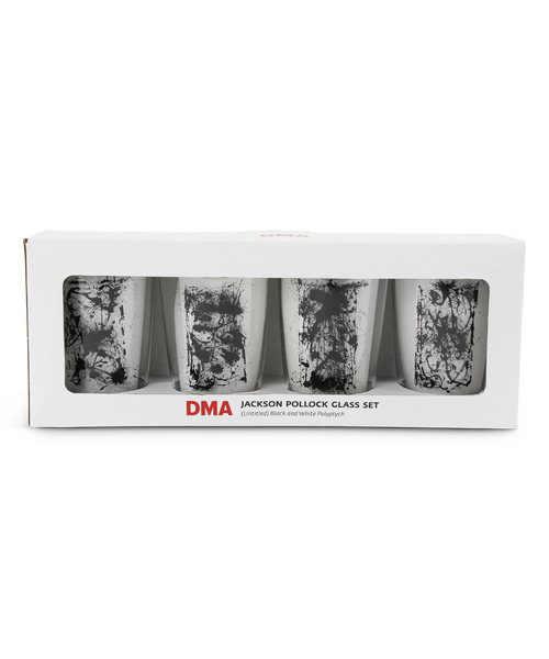 Glass Tumbler Set x Jackson Pollock