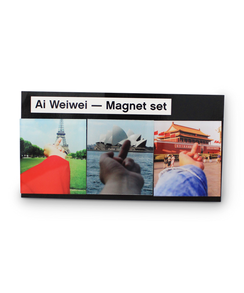 Study of Perspective Magnet Set x Ai Weiwei