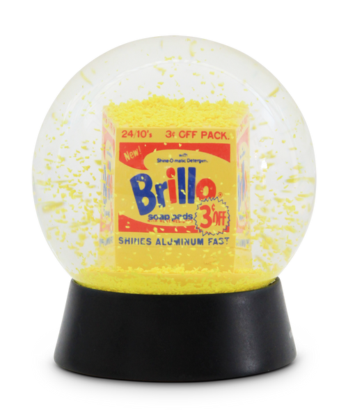 Brillo Snow Dome x Andy Warhol