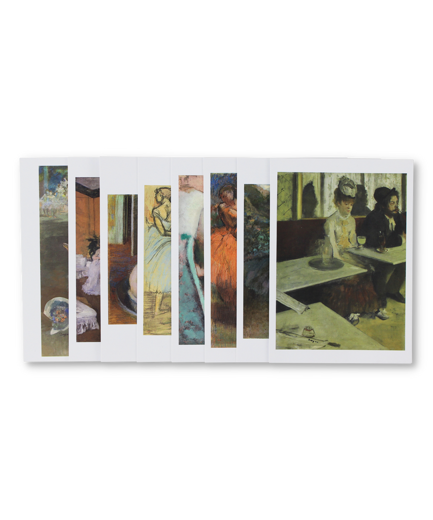 Postcard Set X Degas