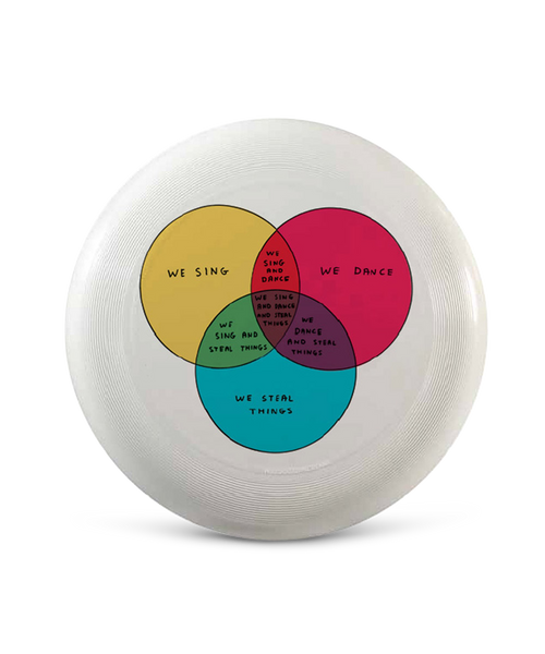David Shrigley Frisbee
